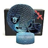 TriPro NFL Team 3D Optical Illusion Smart 7 Colors