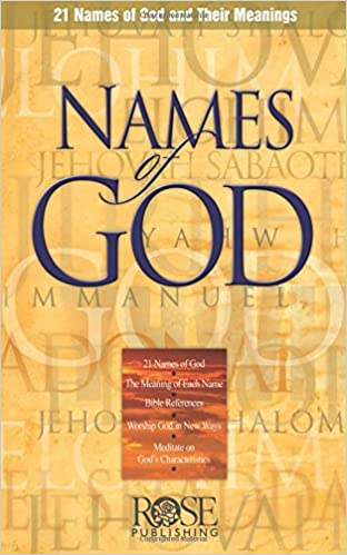 Names Of God Pamphlet  Names Of God And Their Meanings Rose Publishing  Amazon Com Books
