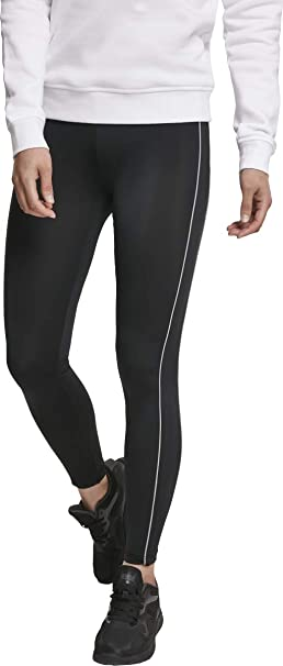 Urban Classics Ladies SIDE TAPED Leggings schwarz
