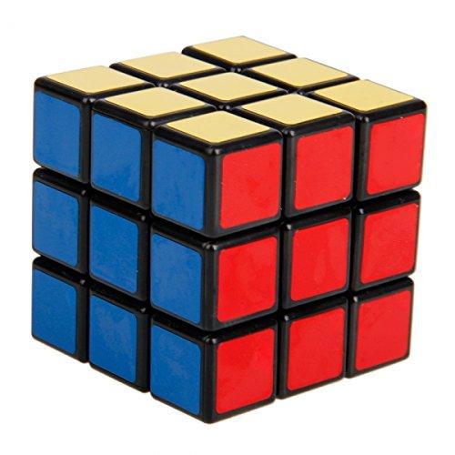 SHS235 New 3x3x3 Fancy Rubik's Cube Puzzle Toy Black
