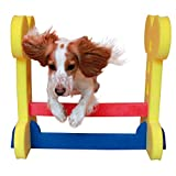 Rosewood Small Dog Agility Hurdle (One Size) (Red/Blue/Yellow)