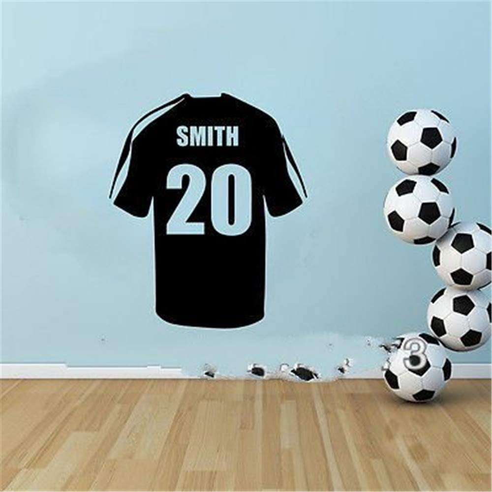 GJQFJBS camiseta de fútbol personalizada de fútbol etiqueta ...