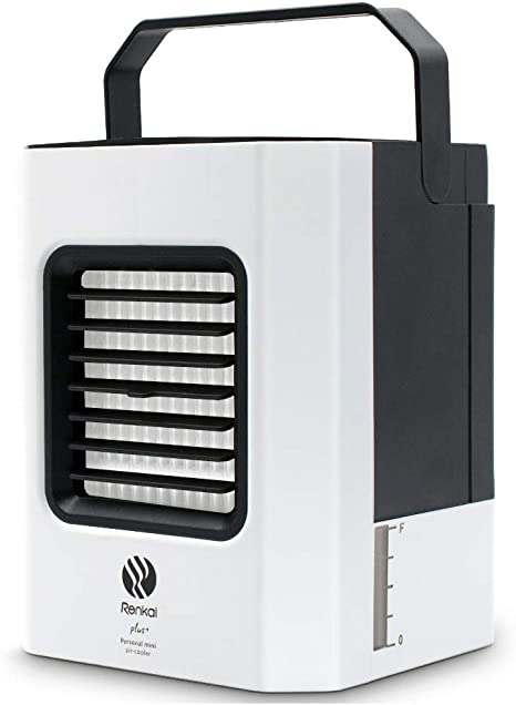 GRELEE Portátil Mini Air Conditioner,Aire Enfriador,4-en-1 Mini ...