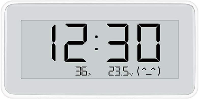 Dewanxin Termómetro Higrometro E-Ink Pantalla,para Xiaomi Mijia Termómetro Higrómetro Digital para Interior Termohigrómetro,para Hogar, Oficina, Casa de Flores, Cocina