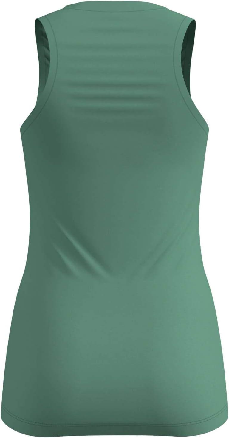 adidas Women's Baselayer Top Singlet Natural + Light Green