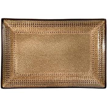 Pfaltzgraff 5119075 Cambria Rectangle Platter, 14