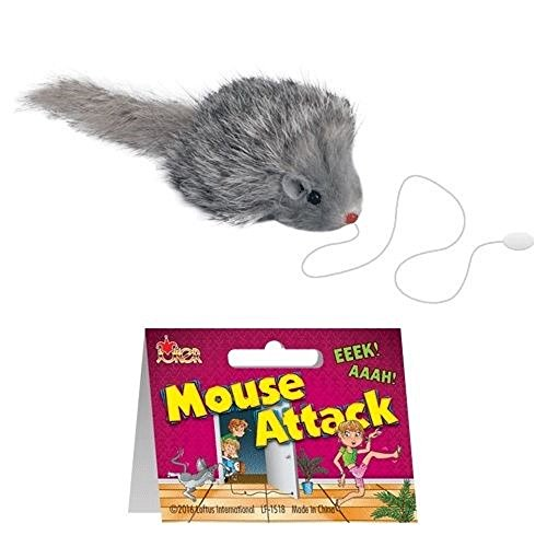 Loftus Mouse Attack Funny Practical Joke Gag Gift, 2.5