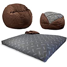 Amazon Com Bean Bag Chair That Turns Into A Bed