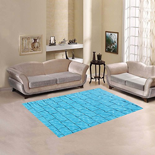Outdoor Pool Area Rugs: Happy More Custom The Swimming Pool Area Rug Cover Indoor