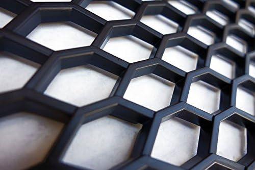 Universal Race Mesh Honeycomb Grille Black Bumper Front Apron ABS Race Grille