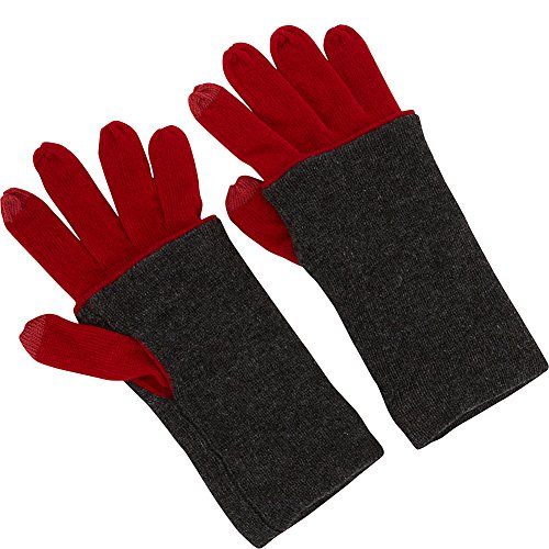 kinross-cashmere-contrast-hem-gloves-one-size-crimson-charcoal