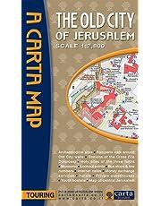 Old City of Jerusalem Map