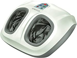 HoMedics Shiatsu Air 2.0 Foot Massager with Heat & Air Compression, 3 Customized Controls & Intensities