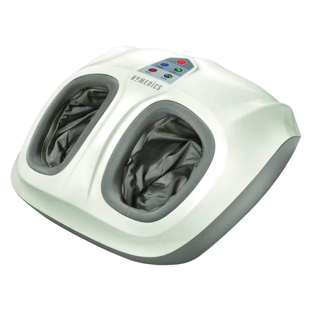 HoMedics Shiatsu Air 2.0 Foot Massager with Heat Air Compression, 3 Customized Controls Intensities
