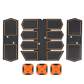 Smart Abdominal Muscle Trainer Sticker Body Sculpting Massager Stimulator Pad Fitness Gym Abs Arm Sports Stickers Fitness Equipments