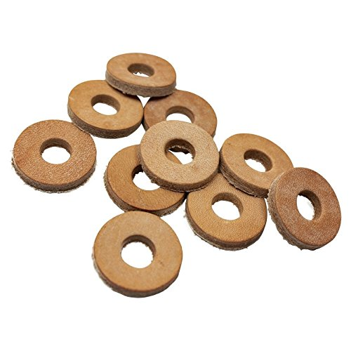 Leather Cushion Washers with 3/8 inch Hole 10 pack (Cushion Washer)