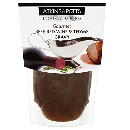 Atkins & Potts Free From Beef Gravy with Red Wine & Thyme - 350g