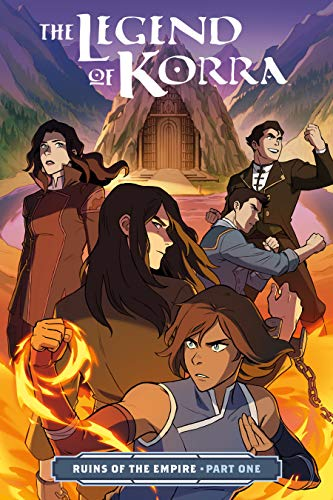 Pdf Graphic Novels The Legend of Korra: Ruins of the Empire Part One