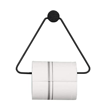 Image Unavailable. Image Not Available For. Color: KaiPoint Nordic Triangle Tissue  Holder Modern Paper Towel Ring Bathroom ...