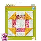 GO! Big 12'' Churn Dash Fabric Cutting Die
