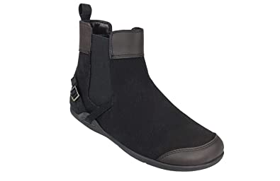 918aa9b8896 Xero Shoes Vienna - Women's Canvas Ankle Boots - Barefoot Inspired  Minimalist Zero Drop Chelsea Style