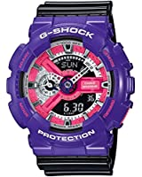 G-Shock GA-110DN Baby-G Series 90's Color Series Luxury Watch - Purple/Black / One Size