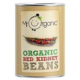 (12 PACK) – Mr Organic – Org Red Kidney Beans Tin | 400g | 12 PACK BUNDLE by Mr Organic