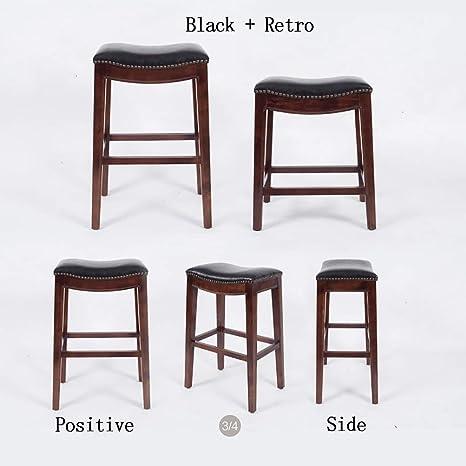 Astonishing Amazon Com W Bar Stool Bar Stool Modern Minimalist Solid Andrewgaddart Wooden Chair Designs For Living Room Andrewgaddartcom