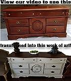 Renaissance Chalk Finish Paint - 1 Gallon - Furniture Paint, Cabinet Paint, Interior Paint, House Paint, Wall Paint - Non Toxic, Eco-Friendly, Superior Coverage - Ivory Tower (128oz)