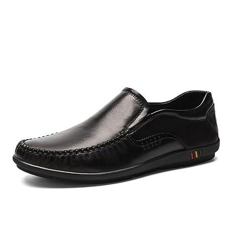 Zapatos de Hombre Zapatos de Cuero de Piel de Primavera/Verano Zapatos Formal de Hombre