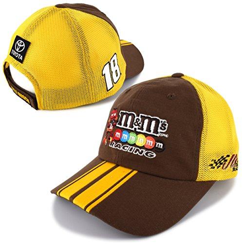 Checkered Flag Kyle Busch 2018 M&M's Team Mesh NASCAR (Kyle Busch Hat)
