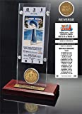 "NFL Indianapolis Colts Super Bowl 41 Ticket & Game Coin Collection, 12"" x 2"" x 5"", Black"