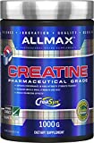 Allmax Creatine Monohydrate - Aid Muscle Growth & Strength Gains, No Artificial Ingredients - 1000g - 5g per Serving - 200 Servings