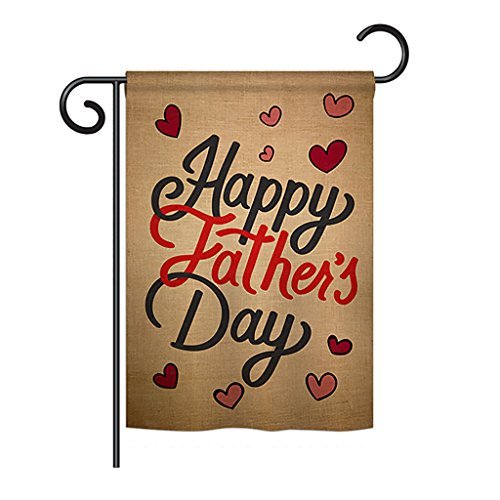 - Ornament Collection Happy Father's Day Outdoor Garden Mini Yard Decoration Flag 13