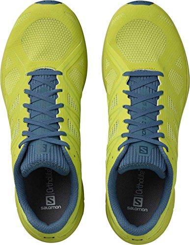 Salomon Sonic Pro 2-Lime Punch/Mallard Blue/Lime Green, 12
