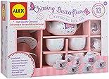 Simple ALEX Toys Chasing Butterflies Ceramic Tea Set