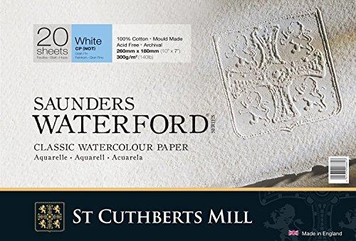 - Saunders Waterford Block 300gsm 177 x 254mm (7