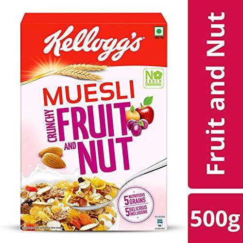 Kellogg's Muesli Crunchy Fruit and Nut, 500g - Buy Online in Kuwait