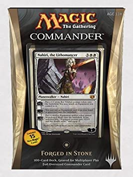 Magic The Gathering Commander 2014 Forged In Stone Deck ...