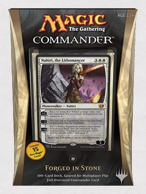 Magic The Gathering Commander 2014 Forged In Stone Deck by Wizards of the Coast B00PCOEYEW Deckkartenspiele Modern | Fuxin