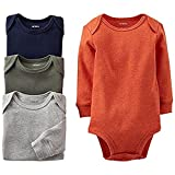 Carter's Baby Boys' 4 Pack Bodysuits (Baby) - Assorted