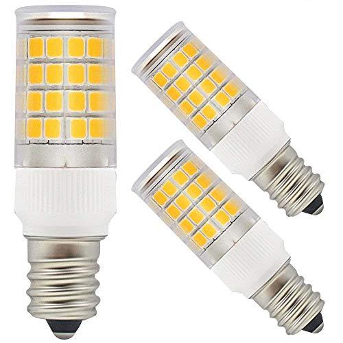 TORCHSTAR ETL-Listed 110V 3.5W LED E12 Light Bulb, 40W Eqv. Candelabra Bulb, 350lm 2700K Soft White 360° Omni-Directional Bulb for Ceiling Fan, Chandelier, Indoor Decorative Lighting, Pack of 3 ()