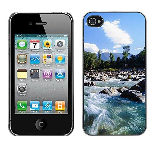 Premio Sottile Slim Cassa Custodia Case Cover Shell // F00004853 rivière // Apple iPhone 4 4S 4G