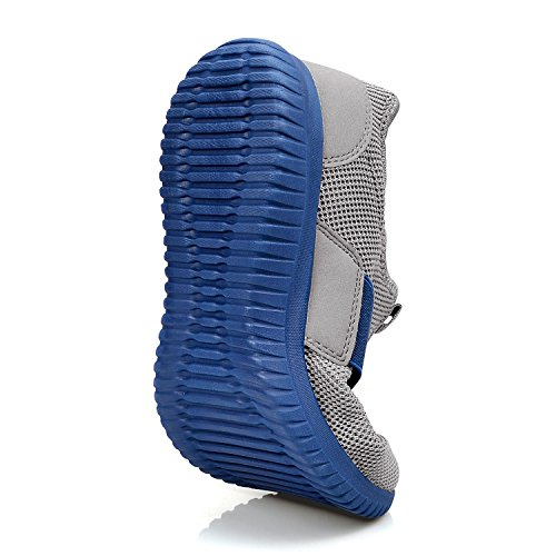 Grau Zocavia Chaussures Baskets blau dd Gym Sport Respirant Course De Femme Running On Slip Homme 11qxHw7a