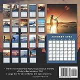 Fishing Calendar 2022: Calendar 2022 with 6 Months