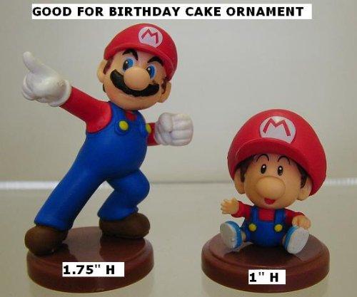 Furuta Super Mario Figure Tiny Mini Mario & Baby Mario