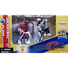 McFarlane Toys NHL Sports Picks Heritage Classic Action Figure 2Pack Jason Smith (Edmonton Oilers) Jose Theodore (Montreal Canadiens)