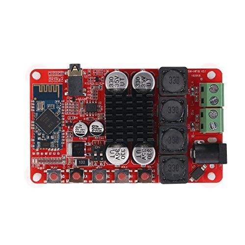 KKmoon TDA7492 Wireless Bluetooth 4.0 50W+50W 2-channel Audio Receiver Stereo Digital Power Amplifier Board Module