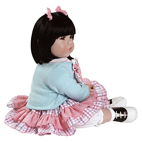 """Adora Toddler Smart Cookie 20"""" Girl Weighted Doll Gift Set for Children 6+ Huggable Vinyl Cuddly Snuggle Soft BodyToy Photo #3"""