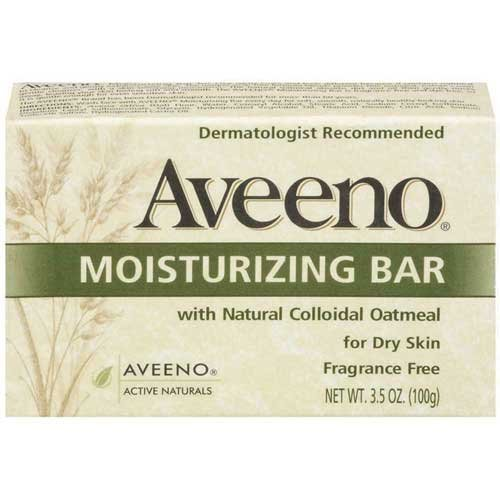 - Johnson & Johnson 3623 Aveeno Moisturizing Bar, Fragrance Free (Pack of 24)